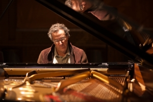 Uri Caine performing at the CBSO Centre in 2007, captured by Birmingham photographer Russ Escritt